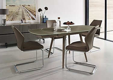 Motion Dining Table and 4 Chairs in  on Furniture Village