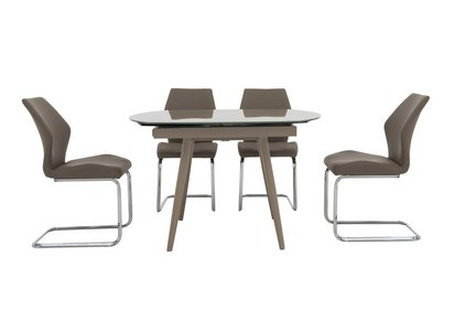 cde570beadd2 Motion Extending Dining Table and 4 Chairs - Furniture Village