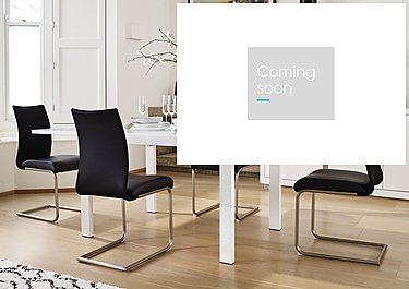 Glide Table and 4 Chairs in  on Furniture Village