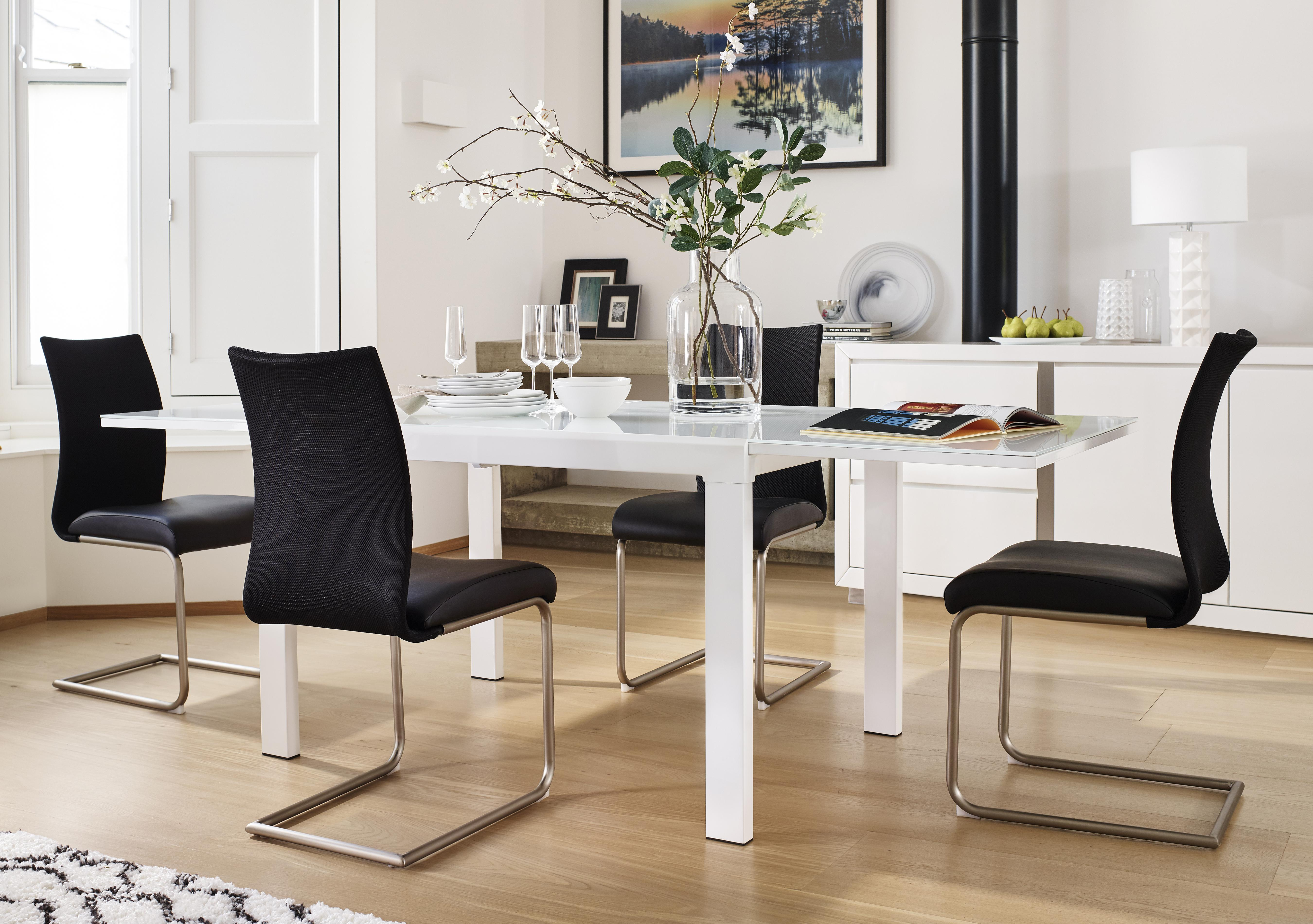 Save £538. Glide Extending Dining Table ...