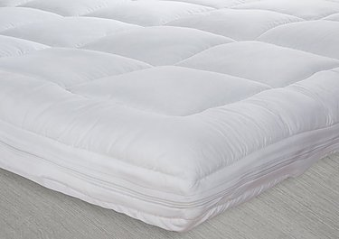 Dual Layer Mattress Topper in  on Furniture Village