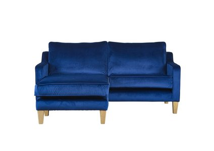 Mason 3 Seater Fabric Chaise End Sofa - Furniture Village