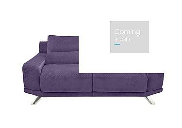 Seville 2 Seater Fabric Sofa in Eider 80415 Heather on Furniture Village