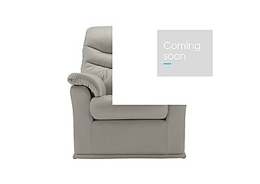 Malvern Leather Power Armchair - Only One Left! in P312 Dreams Cygnet on Furniture Village