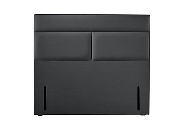 Loren Floor Standing Headboard in Lashes Black on Furniture Village