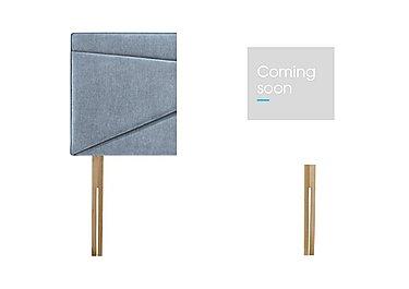 Monroe Strutted Bed Fix Headboard in Baoufant Blue on Furniture Village