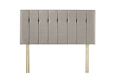 Taylor Strutted Bed Fix Headboard in Demure Taupe on Furniture Village