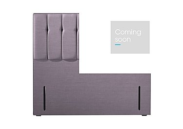 Taylor Floor Standing Headboard in Retro Mauve on Furniture Village