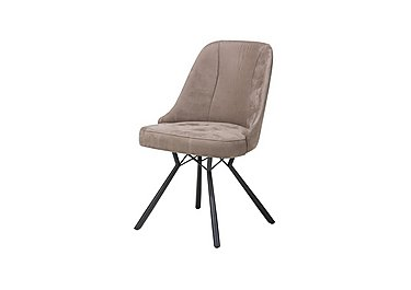 Detroit Dining Chair in Taupe on Furniture Village