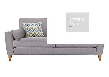 Copenhagen 4 Seater Fabric Sofa - Only One Left! in Salta  Ash Lt Col 2 on Furniture Village