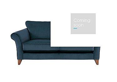 High Street Collection Regent Street Medium Fabric Sofa - Only One Left! in Capri Navy on Furniture Village