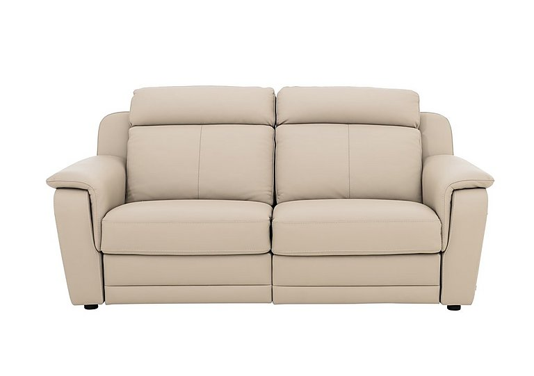 Lucano Leather Power Recliner 3 Seater Sofa With Power Headrests