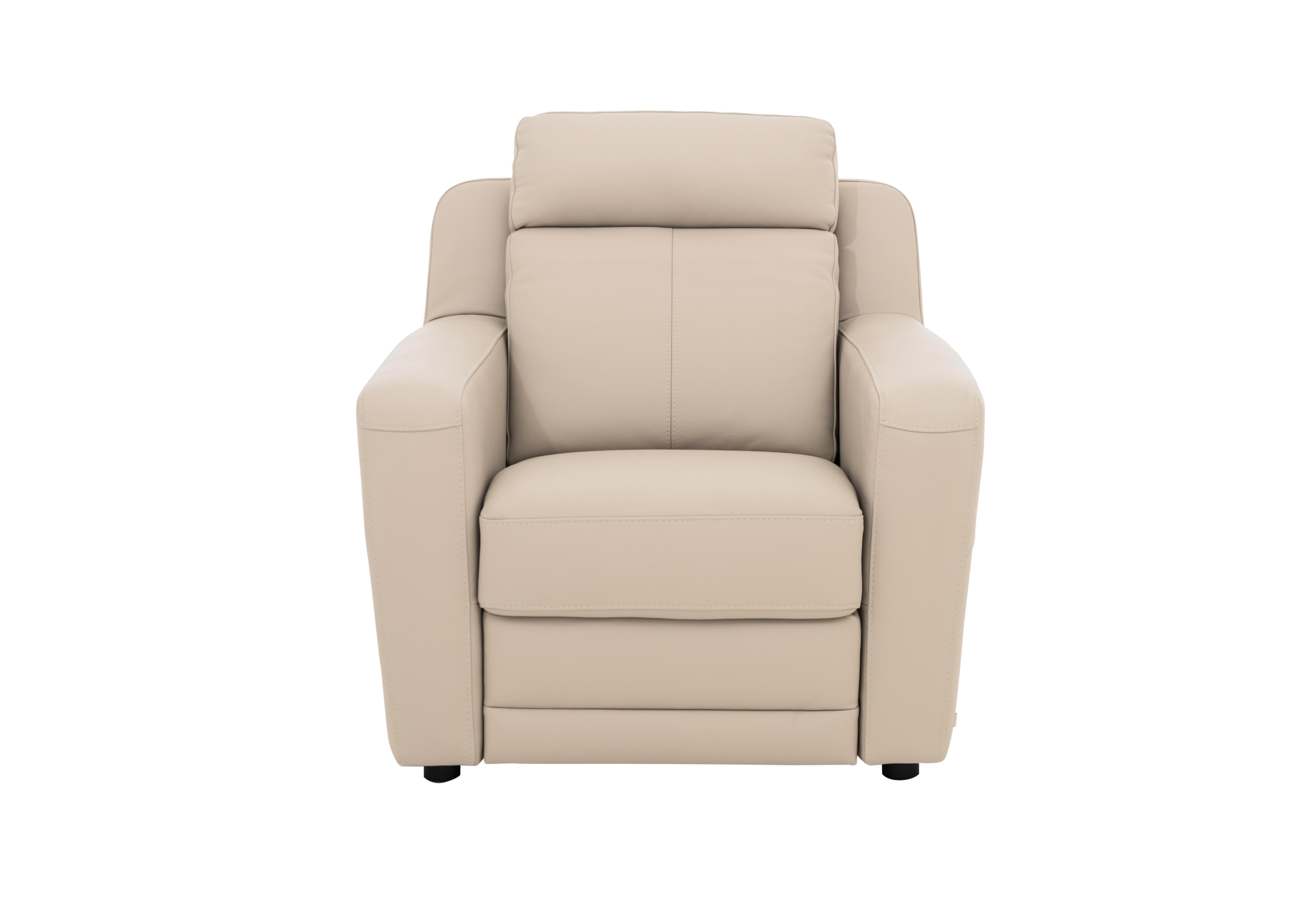 Lucano Leather Power Recliner Armchair With Power Headrest