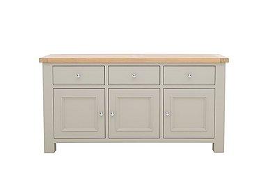 Somerset Large Sideboard in No-P Pg     Pebble Grey on Furniture Village