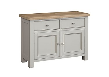 Somerset Small Sideboard in No-P Pg     Pebble Grey on Furniture Village