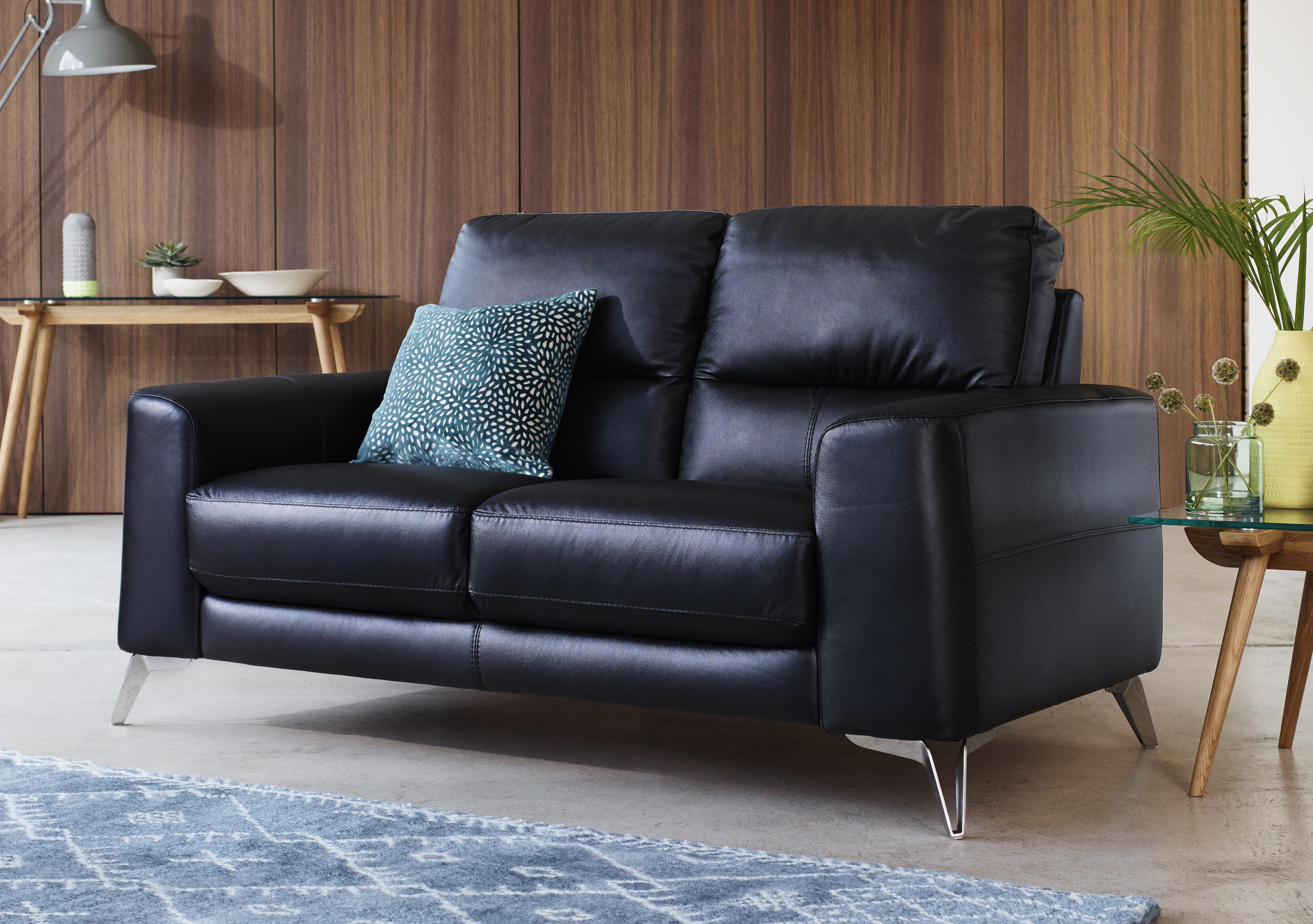 Save £100. Enzo 2 Seater Leather Sofa
