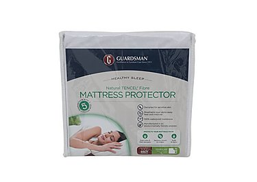 Guardsman Natural Tencel® Fibre Mattress Protector in  on Furniture Village