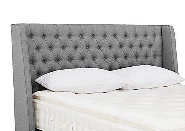 Leweston Floor Standing Headboard in Tweed 803 Grey on Furniture Village