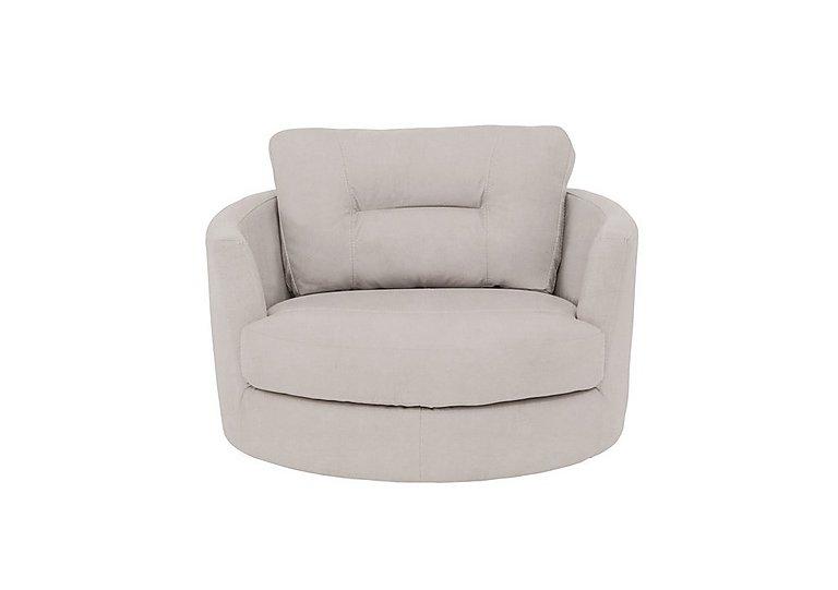 Island Fabric Swivel Chair