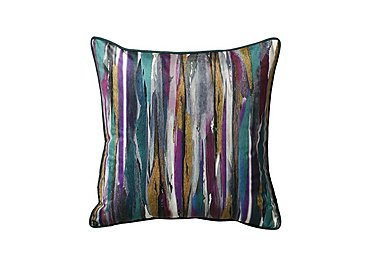 Illusion Cushion in Teal on Furniture Village