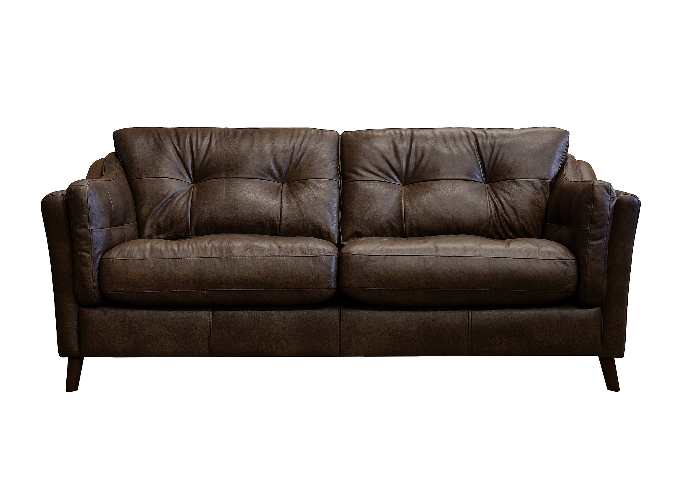 Loft Living 3 Seater Leather Sofa