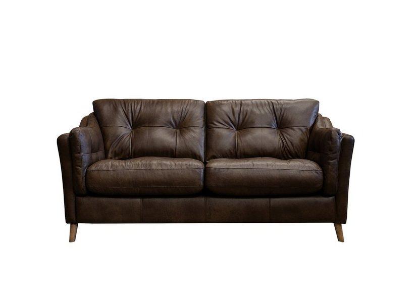 Astonishing Loft Living 3 Seater Leather Sofa Home Interior And Landscaping Ponolsignezvosmurscom
