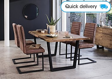 sale retailer 864ce 67ab4 Jagger Dining Table with Metal Legs