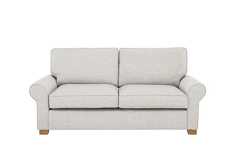 Carmel 3 Seater Classic Back Fabric Sofa