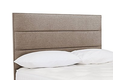 Rowling Floor Standing Headboard in Wool Praline on Furniture Village