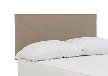 Dahl Headboard in Wool Praline on Furniture Village