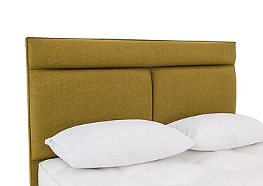 Christie Headboard in Wool Olive on Furniture Village