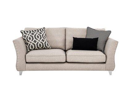 Bellagio 3 Seater Fabric Sofa - Furniture Village