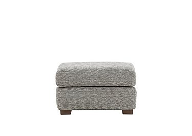 Washington Fabric Footstool in B076 Mirage Powder Mh on Furniture Village