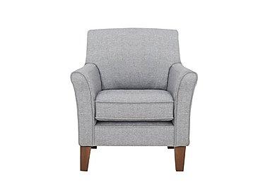 Alex Fabric Accent Chair in Dash Silver Col 3 Dark on Furniture Village
