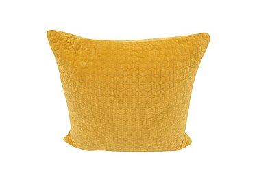Alex Scatter Cushion in Evan Mustard on Furniture Village