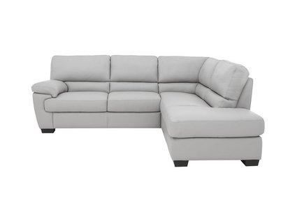 Lazio Leather Corner Sofa