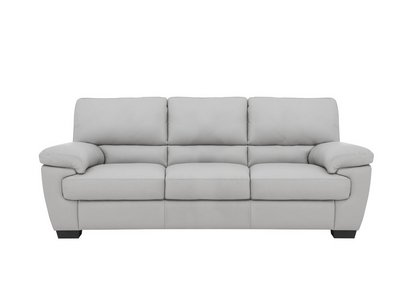 Incredible Lazio 3 Seater Leather Sofa Home Interior And Landscaping Ponolsignezvosmurscom