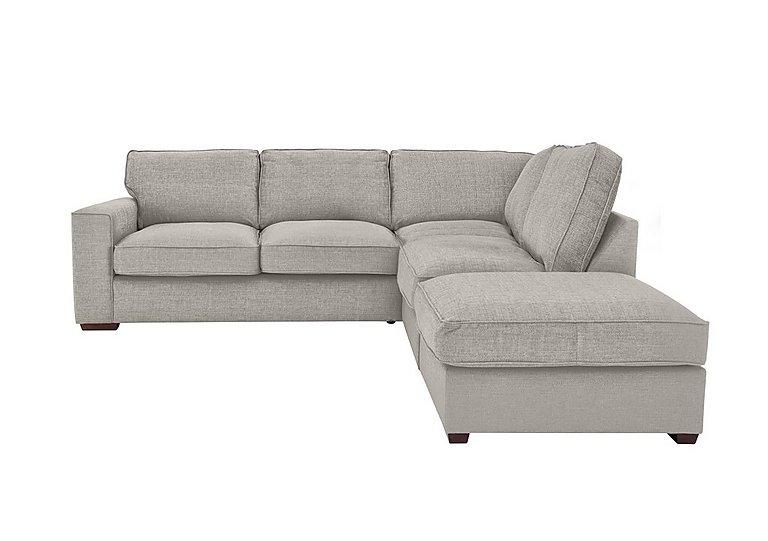 Seasons Classic Back Fabric Corner Sofa - Furniture Village