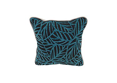 Seasons Fabric Scatter Cushion in Ronda Teal on Furniture Village