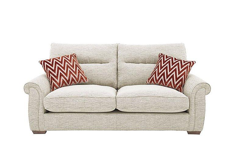 The Comforter 3 Seater Classic Back Fabric Sofa Furniture Village