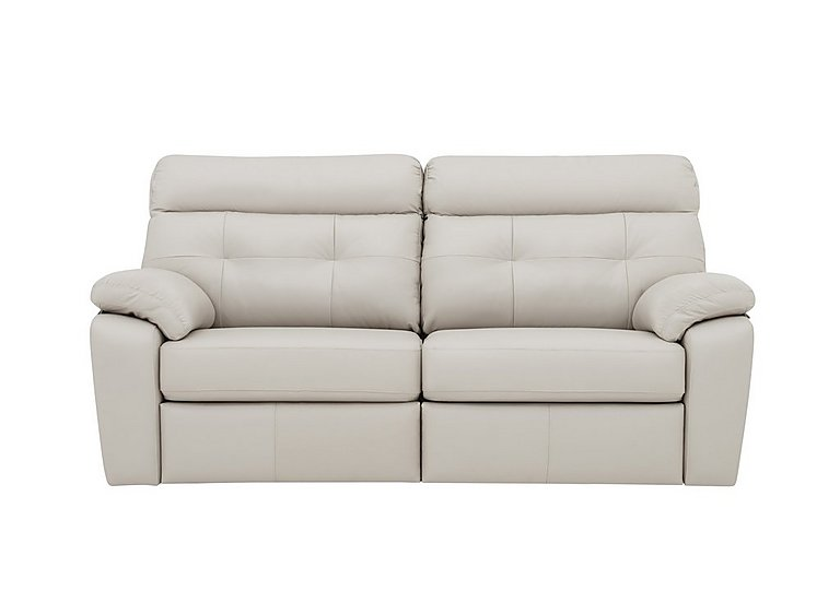 Miller 3 Seater Leather Sofa