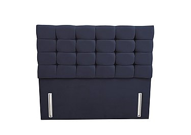 Clover Headboard in Facet Navy on Furniture Village