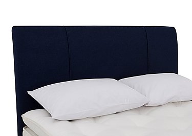 Elm Headboard in Facet Navy on Furniture Village