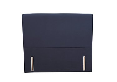 Palm Headboard in Facet Navy on Furniture Village