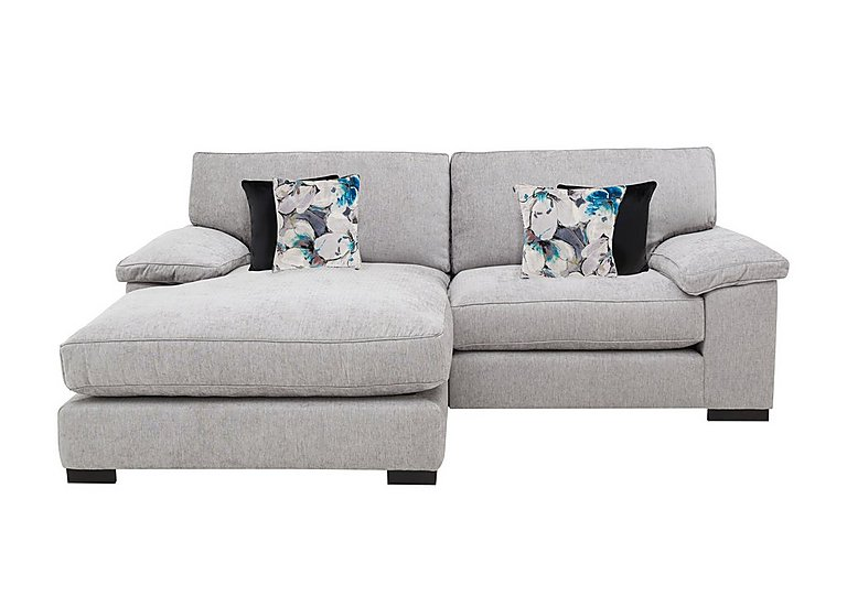 Slouch Large Classic Back Fabric Chaise End Sofa Furniture Village