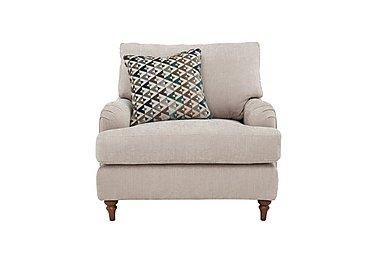 Freya Fabric Armchair in Darwin Stone - Talenti Marine on Furniture Village