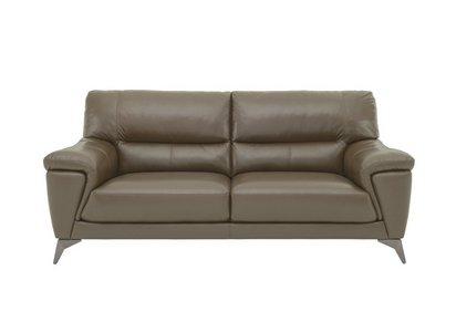 Zelda 3 Seater Leather Sofa - World of Leather - Furniture Village