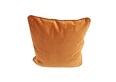 Chic Fabric Accent Scatter Cushion in Sametti 48 Papaya on Furniture Village