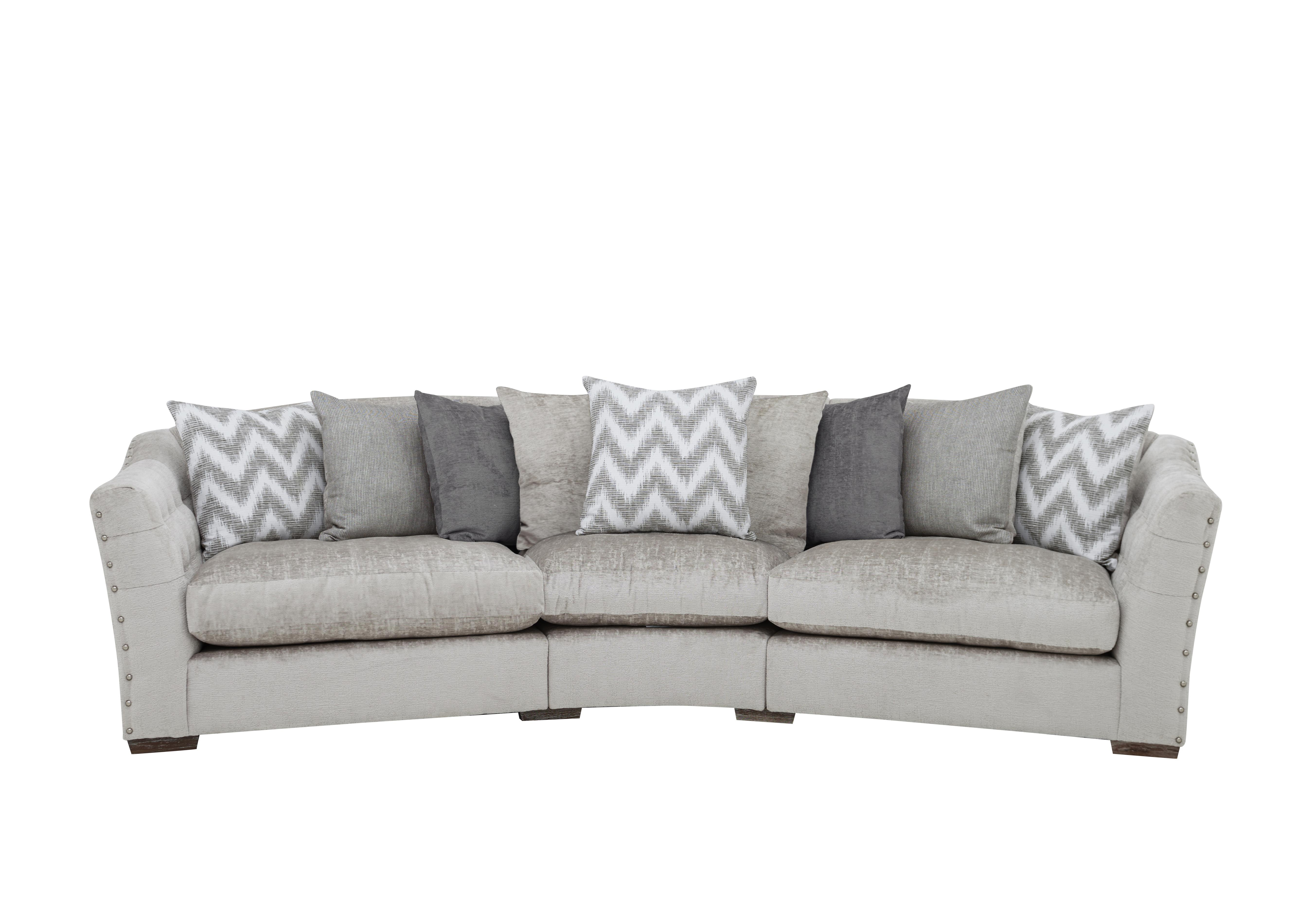devine pillow back fabric curved sofa furniture village rh furniturevillage co uk curved corner sofa ikea curved corner sofa leather