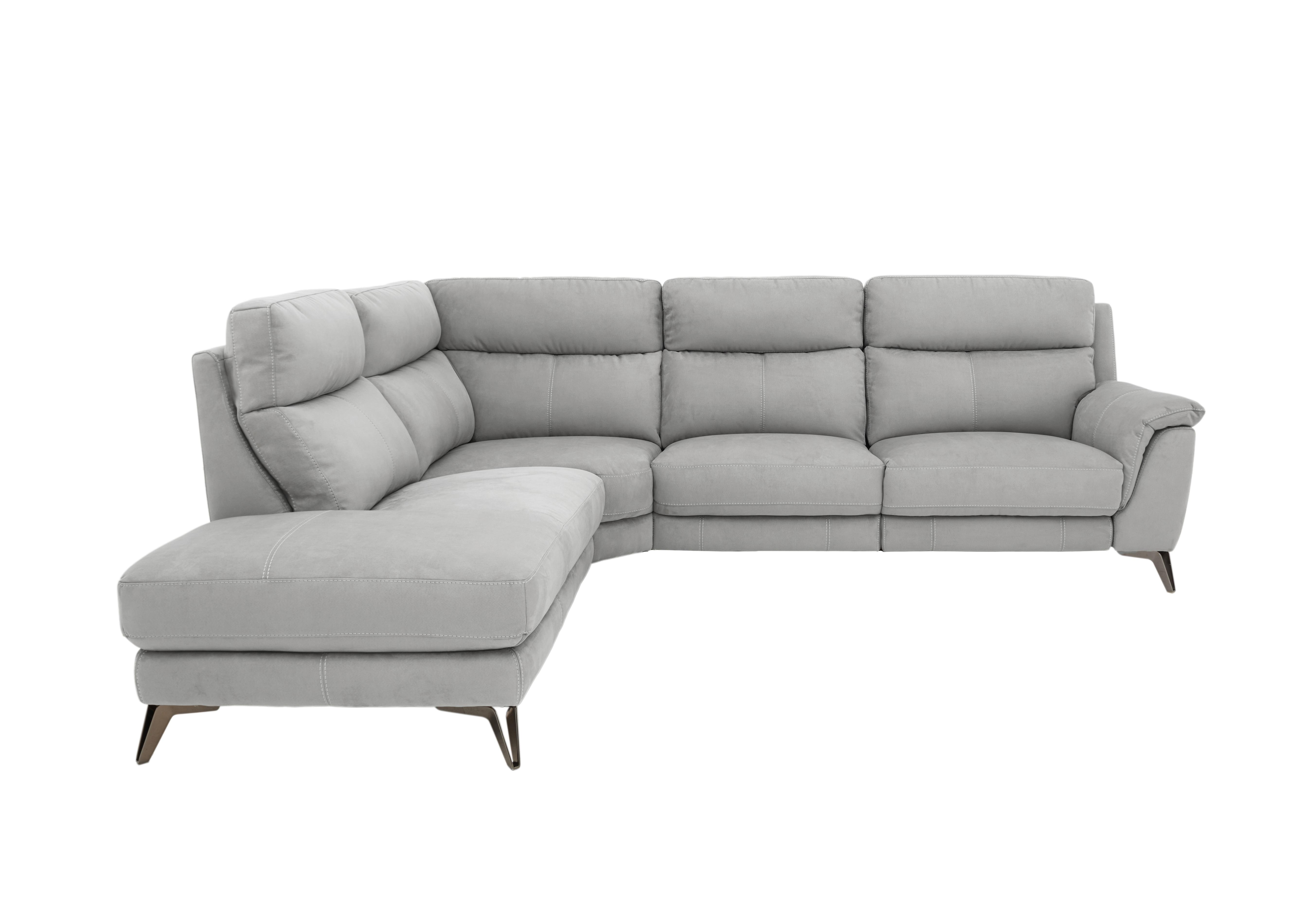 Picture of: Streamline 5 Seater Classic Back Fabric Recliner Corner Sofa Furniture Village